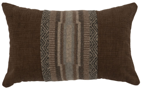 Lodge Lux Oblong Pillow Wooded River - unique linens online