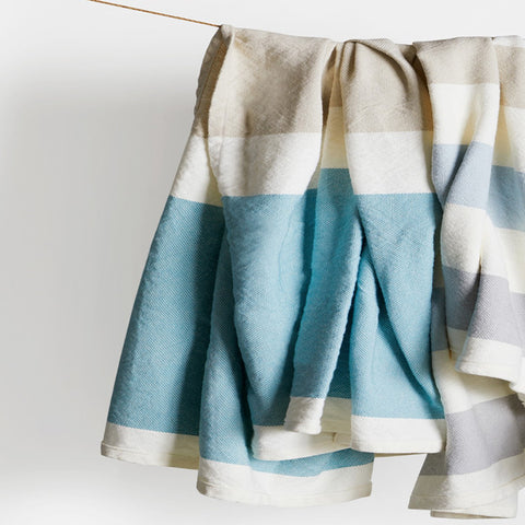 Kennebec Cotton / Linen Day Blanket - unique linens online