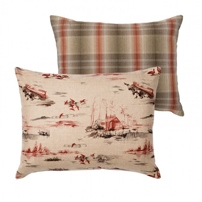 Cimarron Shams Wooded River - unique linens online