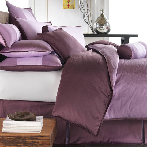 Profiles Silk Plum Duvets Mystic Valley Traders - unique linens online
