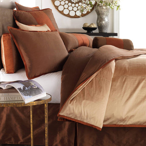 Profiles Silk Bronze Duvets Mystic Valley Traders - unique linens online