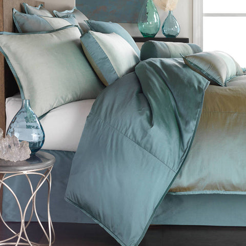 Profiles Silk Turquoise Duvets Mystic Valley Traders - unique linens online