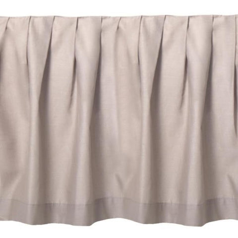 Smoky Square Bedskirt - unique linens online
