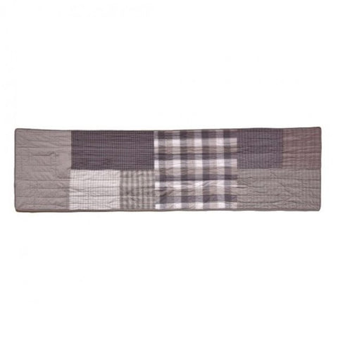 Smoky Square Valance - unique linens online
