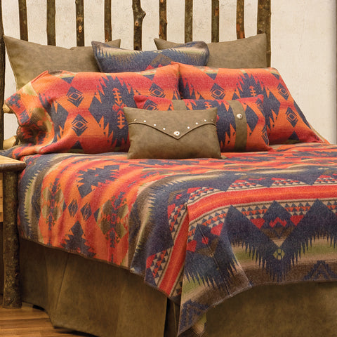 Socorro II Bedspread Wooded River - unique linens online