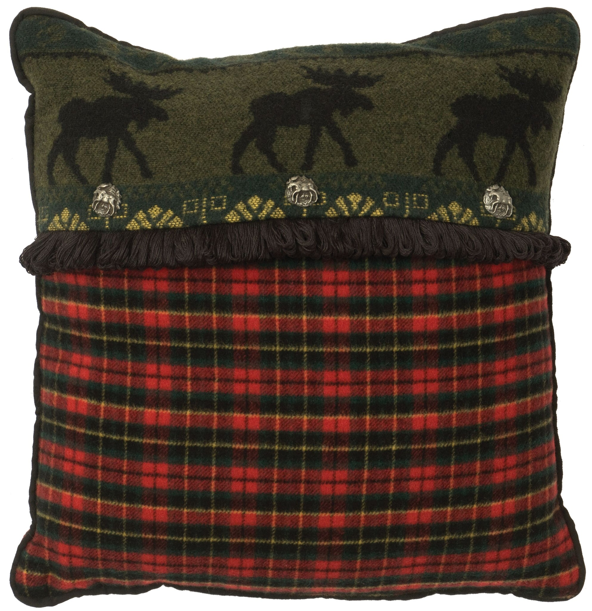 McWoods 1 Decor Pillow Wooded River - Unique Linens Online