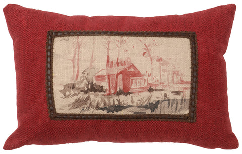 Cimarron Oblong Pillow Wooded River - unique linens online