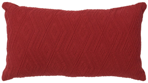 Geronimo Haze Oblong Pillow Wooded River - unique linens online