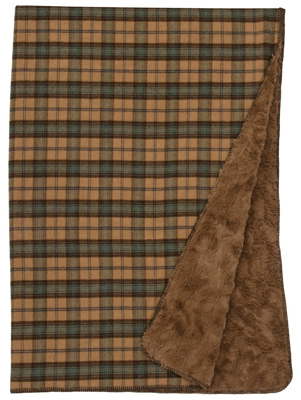 Premier Dillon Plaid Throw Wooded River - unique linens online