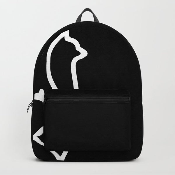 not your llama backpack (onyx)