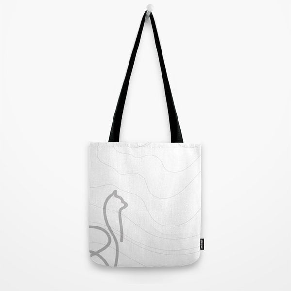 not your llama all-purpose tote (greylock)