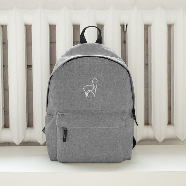 alPACKa embroidered backpack