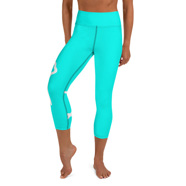 llamaste yoga capri leggings (ultramarine)