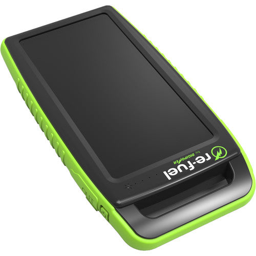 10,000mAh Solar Portable Charger (IPX4 Waterproof)