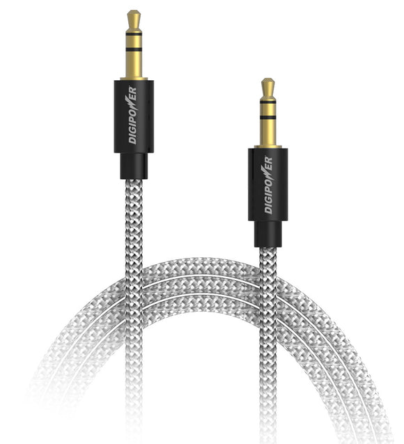 3ft Stereo Audio Cable (Tangle Free)