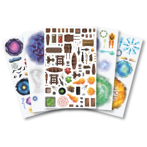 Sticker Pages Pack of 7