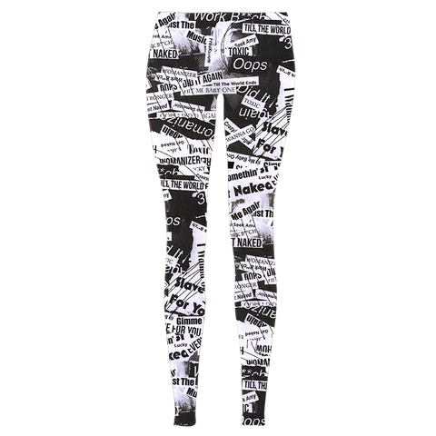 Tabloid Leggings