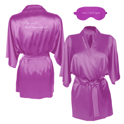 Innocent Robe & Eye Mask Set