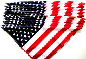 Unisex Bandanas USA Flag Print Dustproof Face Cover
