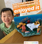 Halftoys Educational 3D Puzzles