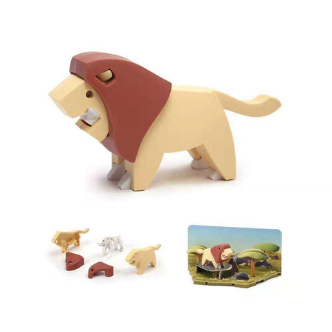 Image of HALFTOYS LION LANDSCAPE EDITION