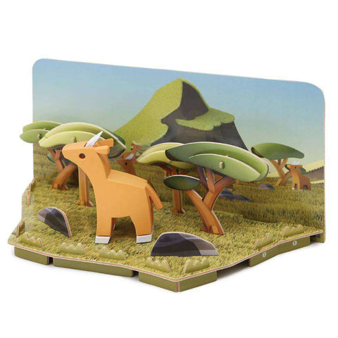 Image of HALF ANIMAL WORLD BUNDLE WITH LANDSCAPE