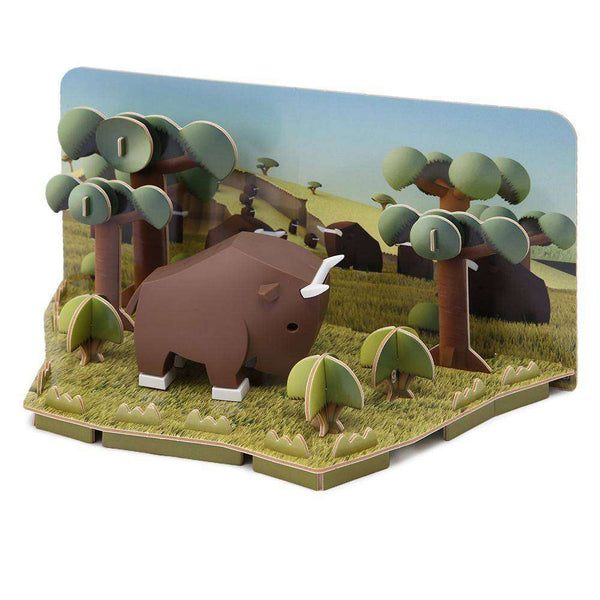HALFTOYS GNU DIORAMA LANDSCAPE EDITION (Pre-order: New stock arrives 20-27 Aug 2020)