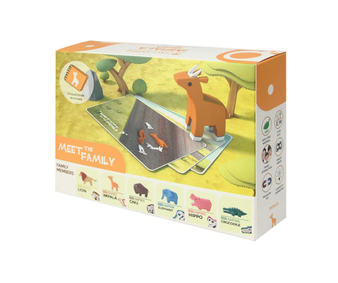 HALF ANIMAL PICTURE BOOK SET (IMPALA)