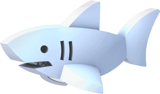 HALFTOYS® WHITE SHARK - JollyPlaystore