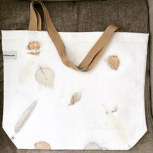 Load image into Gallery viewer, eco printed tote bags