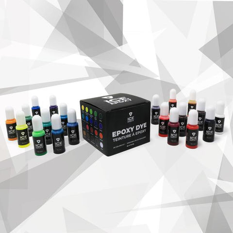 ICE EPOXY 20 x DYE COLOUR KIT