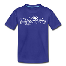 Load image into Gallery viewer, Chicano King Youth T-Shirt - Blue
