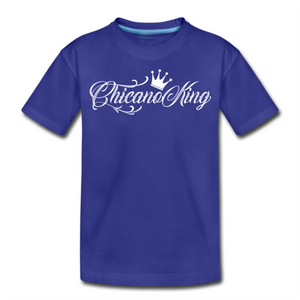 Chicano King Youth T-Shirt - Blue