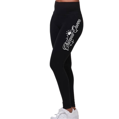 Chicana Queen High Rise Spandex Leggings