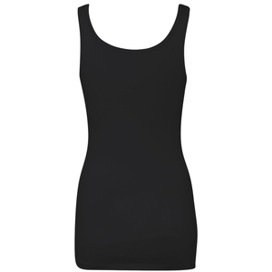 Chicana Queen Spandex Jersey Tank Black Back