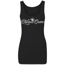 Load image into Gallery viewer, Chicana Queen Spandex Jersey Tank