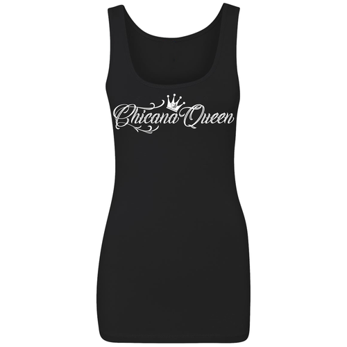 Chicana Queen Spandex Jersey Tank