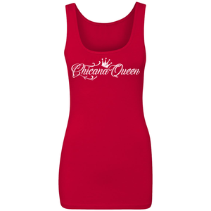 Chicana Queen Spandex Jersey Tank Red