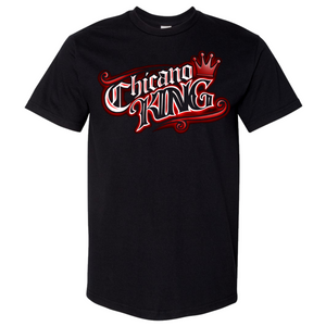 Chicano King Red Tattoo Classic T-Shirt