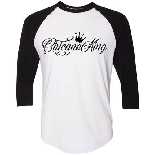 Chicano King 3/4 Sleeve Baseball Tee