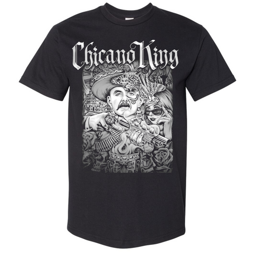 Chicano King Limited Edition T-Shirt by Niteowl Front