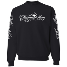 Load image into Gallery viewer, Chicano King Classic Crew Neck Sweatshirt Black Front