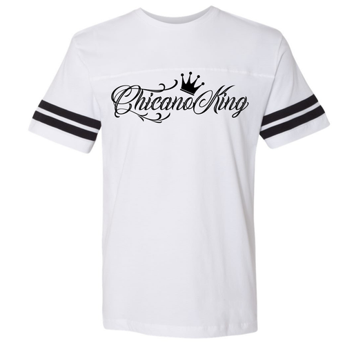 Chicano King Football T-Shirt Front