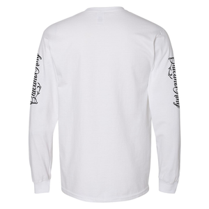 Chicano King Classic Long Sleeve T-Shirt White Back