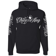 Load image into Gallery viewer, Chicano King Pullover Hoodie Sweatshirt Black