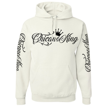 Load image into Gallery viewer, Chicano King Pullover Hoodie Sweatshirt White