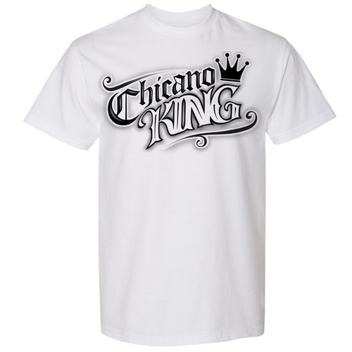 Chicano King Tattoo T-Shirt