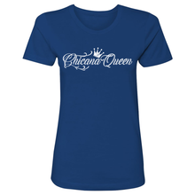 Load image into Gallery viewer, Chicana Queen Boyfriend Tee Front