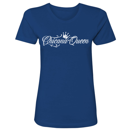 Chicana Queen Boyfriend Tee Front