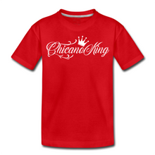 Load image into Gallery viewer, Chicano King Youth T-Shirt - Red